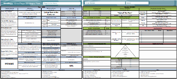 Strategic Account Plan Template Lovely E Page Strategic Plan Business