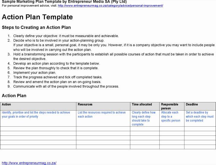 Strategic Action Plan Template New Strategic Life Plan Templates