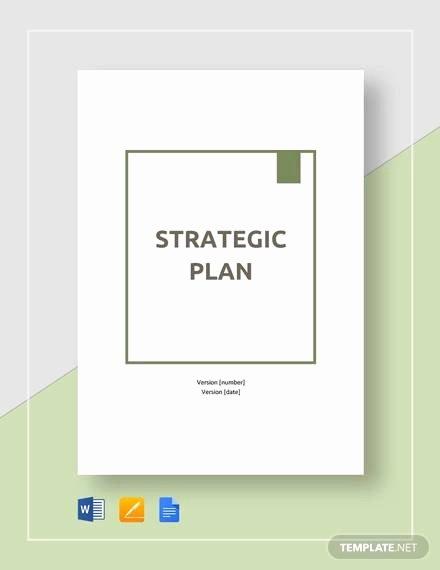 Strategic Plan Template Word Beautiful Strategic Plan Example 27 Samples In Pdf Word Docs