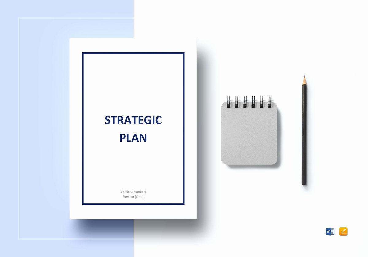 Strategic Plan Template Word Best Of Strategic Plan Template In Word Google Docs Apple Pages