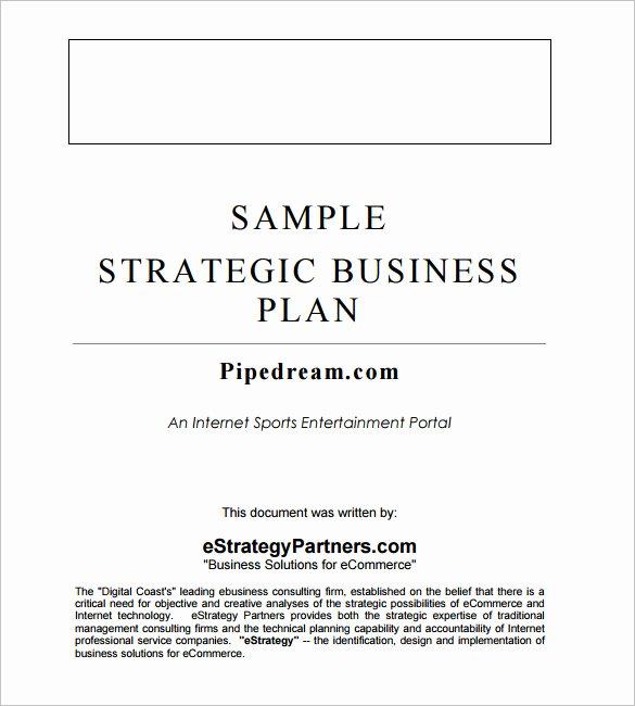 Strategic Plan Template Word Elegant 13 Strategic Business Plan Templates Ai Psd Google