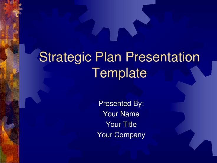 Strategic Plan Templates Free Awesome Strategic Plan Powerpoint Templates Business Plan