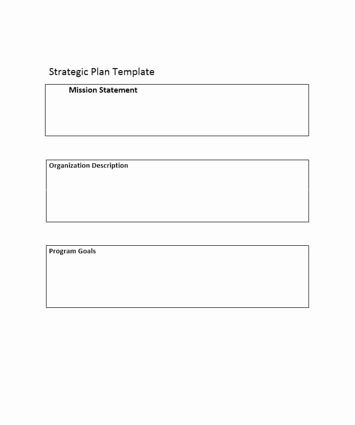Strategic Planning Templates Free Beautiful 32 Great Strategic Plan Templates to Grow Your Business