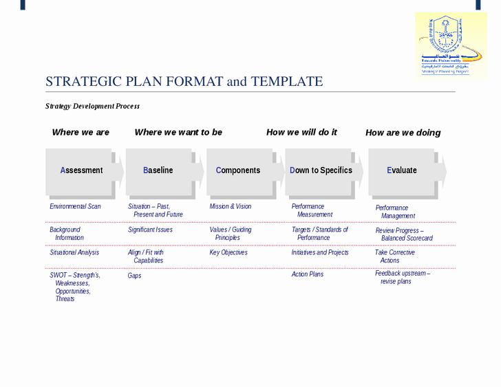 Strategic Planning Templates Free Inspirational Simple Strategic Planning Template Process Steps