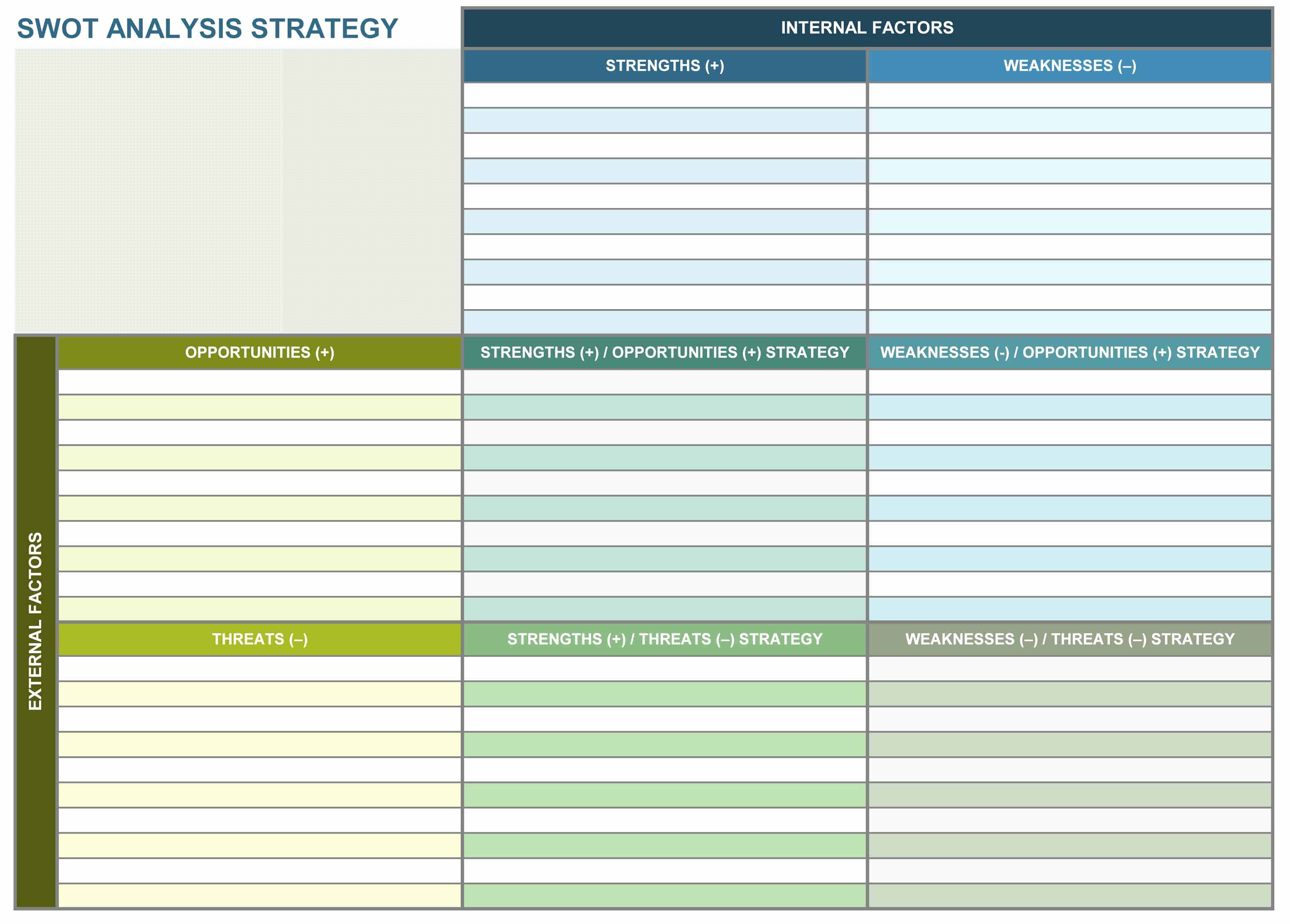 Strategic Planning Templates Free Lovely 9 Free Strategic Planning Templates Smartsheet