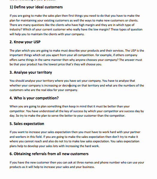 Strategic Sales Plan Template Best Of Strategic Sales Plan Examples top form Templates