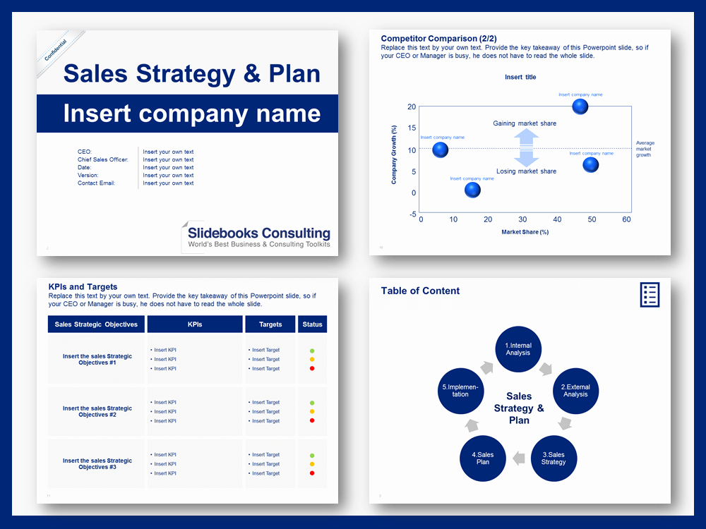 Strategic Sales Plan Template New Sales Strategy & Plan Template