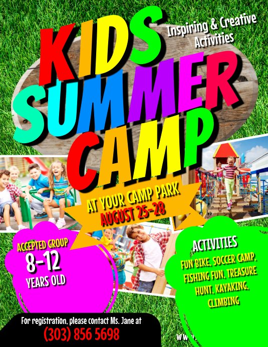 Summer Camp Flyer Template Best Of Kids Summer Camp Flyer Template
