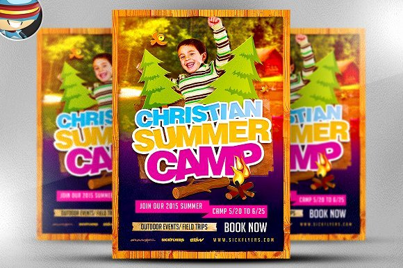Summer Camp Flyer Template Fresh Christian Summer Camp Flyer Template Flyer Templates On