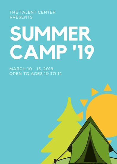 Summer Camp Flyer Template Luxury Customize 70 Summer Camp Flyer Templates Online Canva