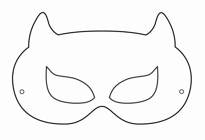 Superhero Mask Template Pdf Awesome Superhero Mask Template