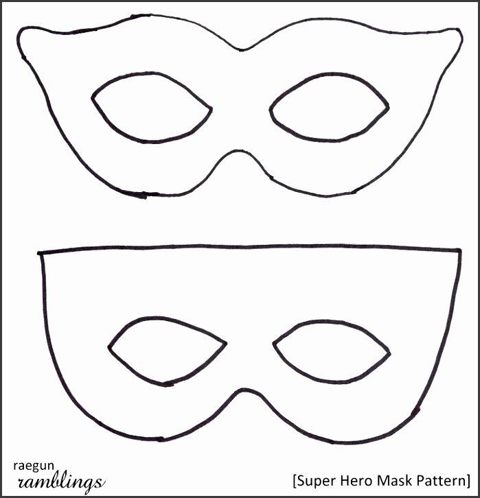 Superhero Mask Template Pdf Beautiful 9 Superhero Mask Template Pinterest Sampletemplatess