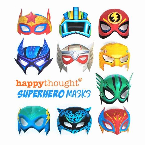 Superhero Mask Template Pdf Beautiful Printable Superhero Masks Easy and Fun to Make Diy