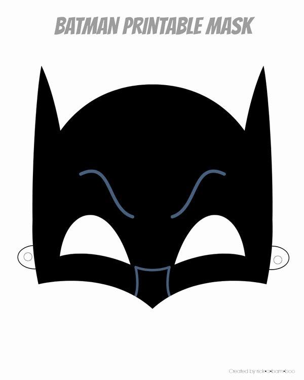 hero mask printables