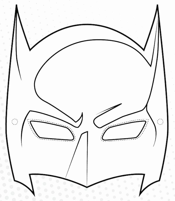 Superhero Mask Template Pdf Inspirational Best 25 Printable Masks Ideas On Pinterest