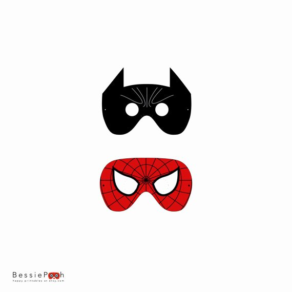 Superhero Mask Template Pdf Luxury Best S Of Spider Man Mask Printable Template Spider