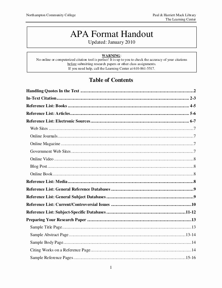40 Table Of Contents Template Markmeckler Template Design