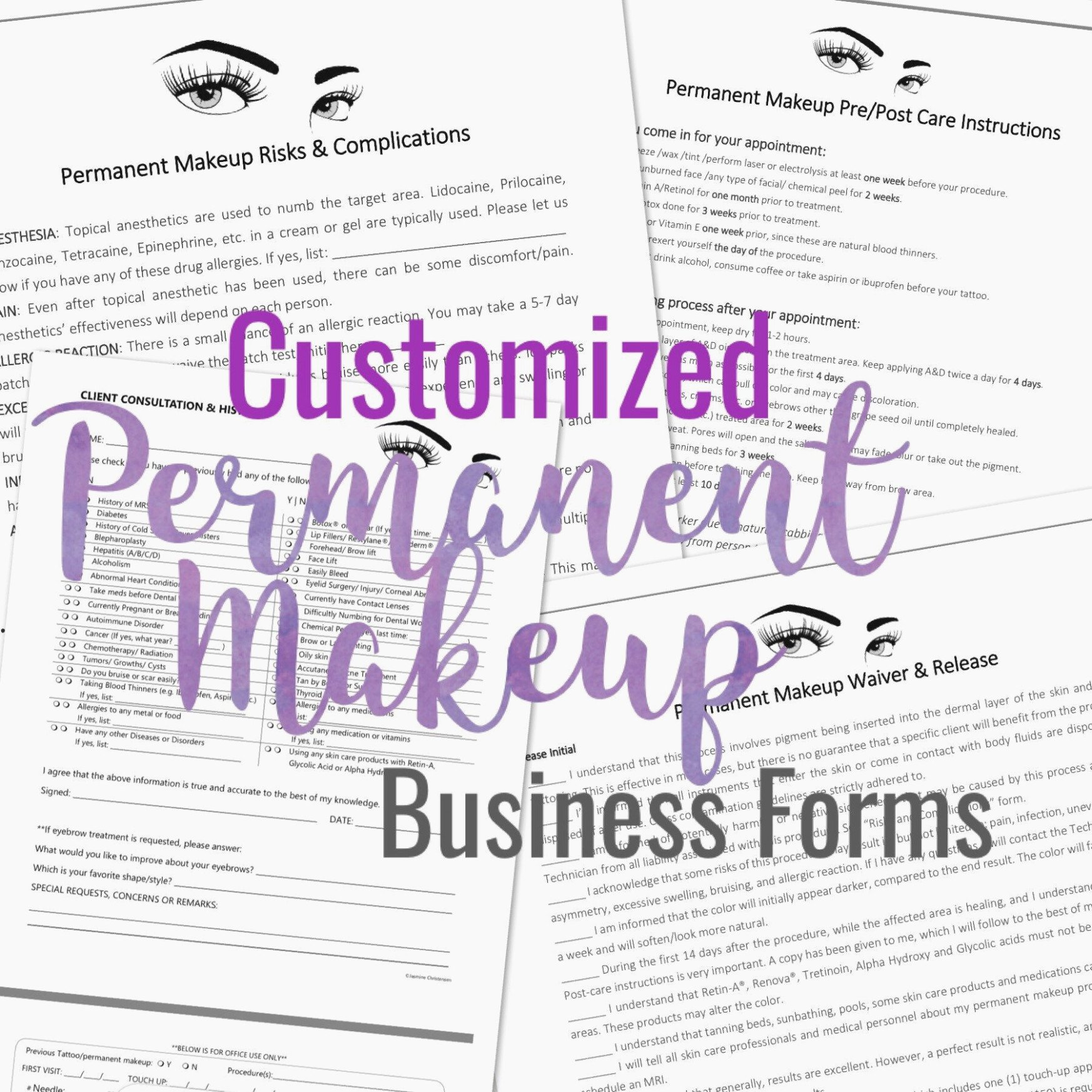 Tattoo Consent form Template Elegant How Lash Extension Consent