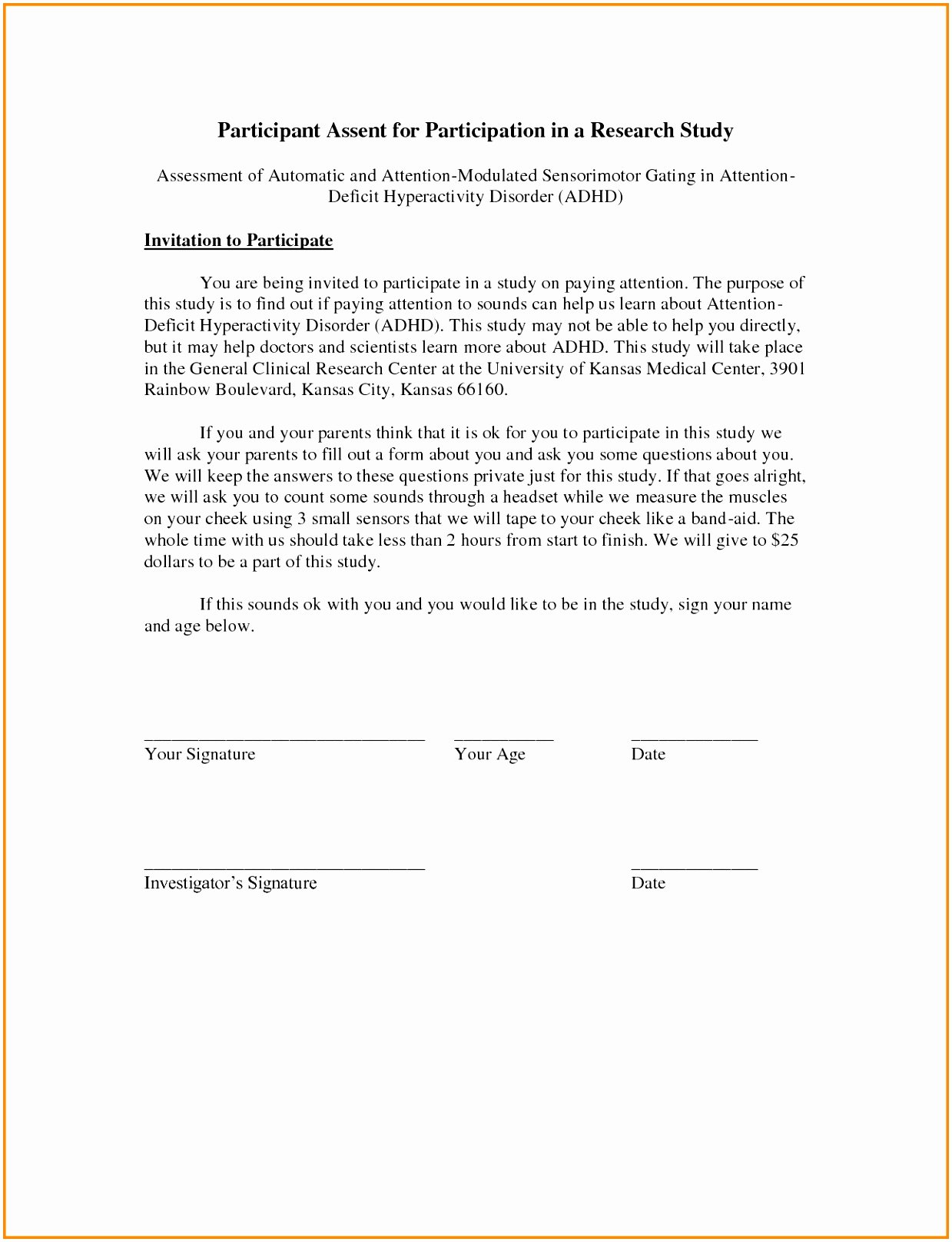 Tattoo Consent form Template Unique 7 Standard Consent form Template atwty