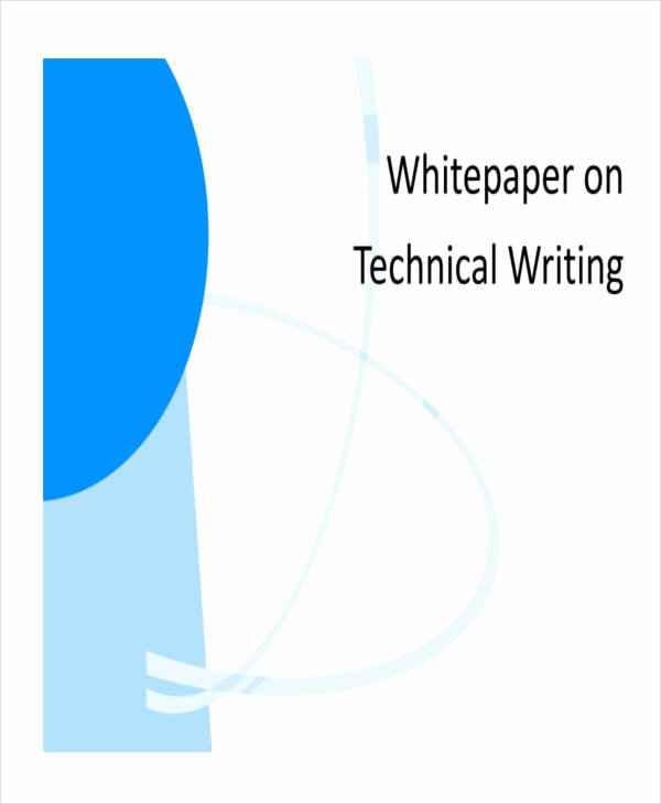Technical White Paper Template Beautiful 38 Sample White Paper Templates