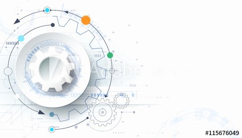 Technical White Paper Template Best Of Vector Futuristic Technology Background 3d White Paper