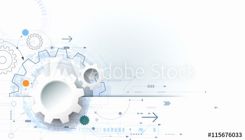 Technical White Paper Template New Vector Futuristic Technology Background 3d White Paper