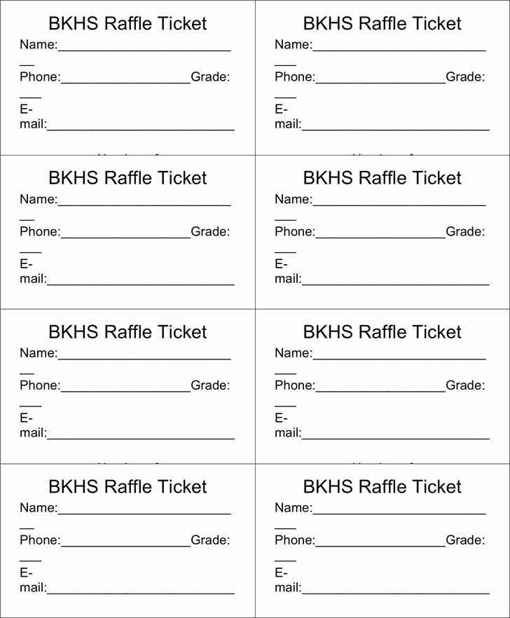 Template for Raffle Tickets Awesome Best 25 Free Raffle Ticket Template Ideas On Pinterest