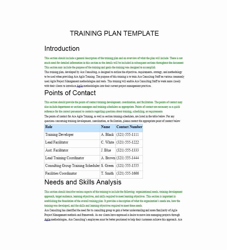 Template for Training Manual Awesome Training Manual 40 Free Templates & Examples In Ms Word