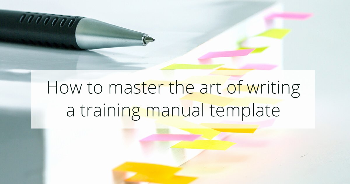 Template for Training Manual Inspirational the Ly Employee Training Manual Template You'll Need