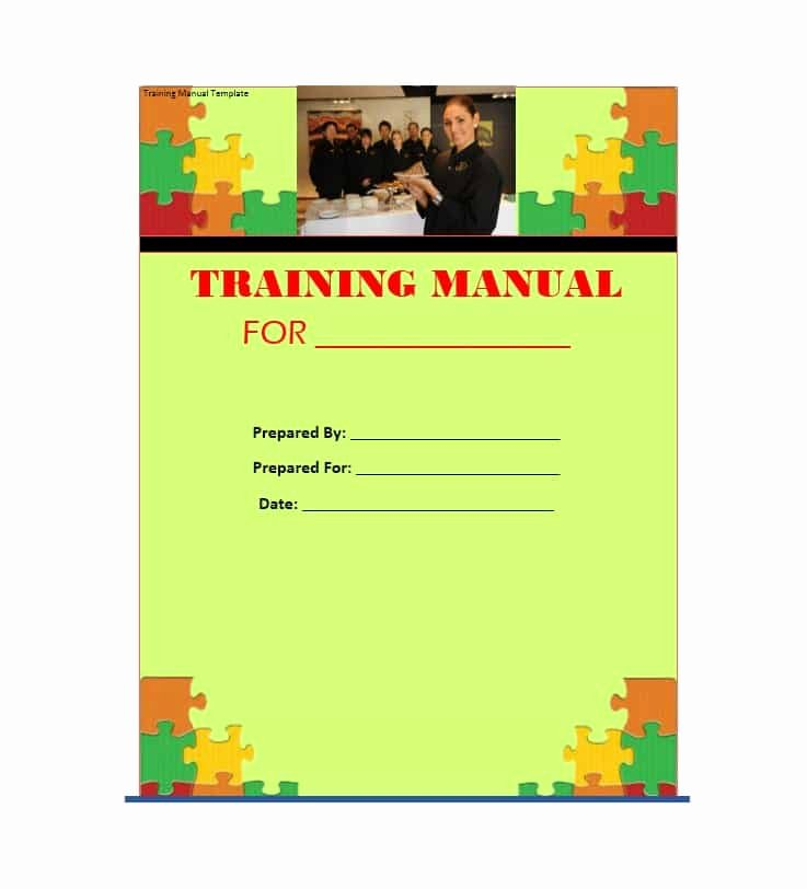 Template for Training Manual Inspirational Training Manual 40 Free Templates & Examples In Ms Word