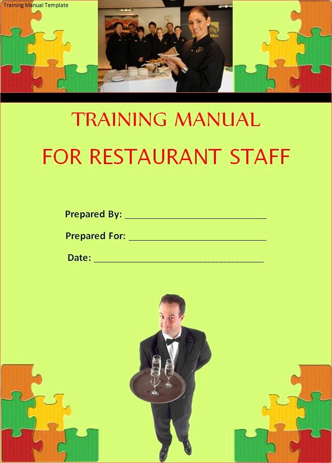 Template for Training Manual Unique Manual Templates