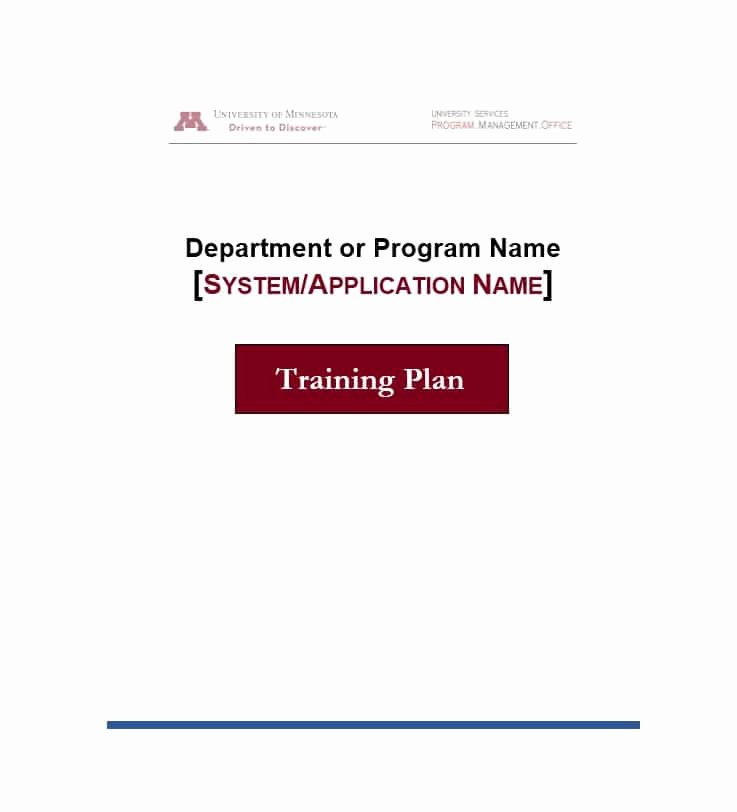 Template for Training Manual Unique Training Manual 40 Free Templates & Examples In Ms Word