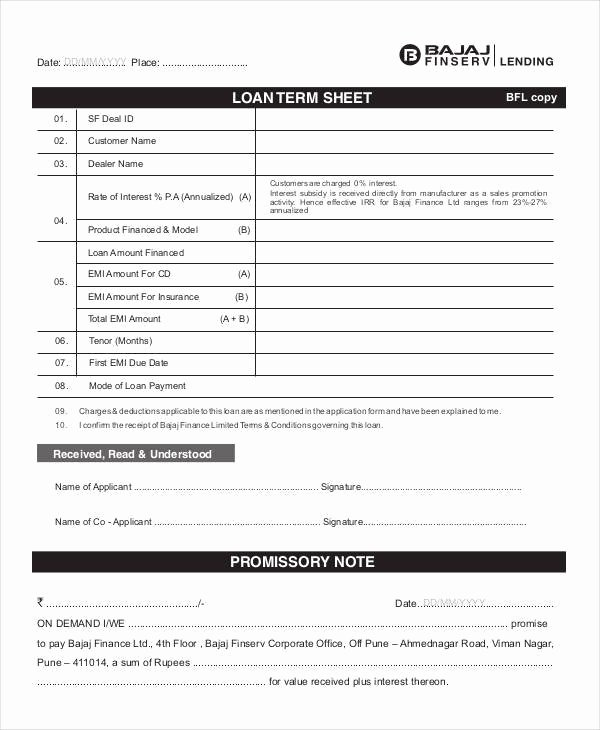 Term Sheet Template Word Fresh 38 Sheet Samples & Templates In Pdf