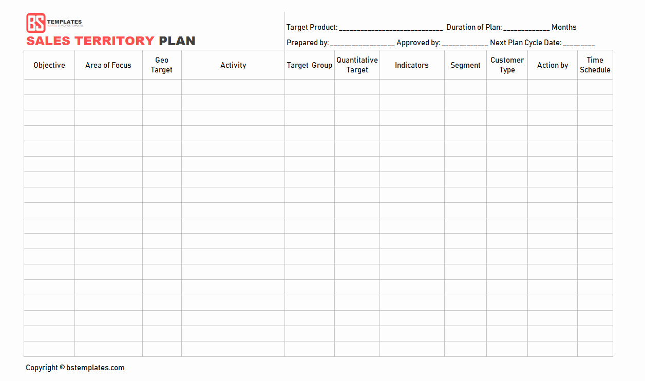 Territory Sales Plan Template Elegant Sales Management Plan Custom Paper Sample September 2019