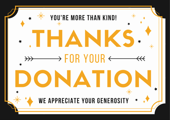 Thank You for Donation Template Fresh Sample Donation Letter for Non Profit organizations