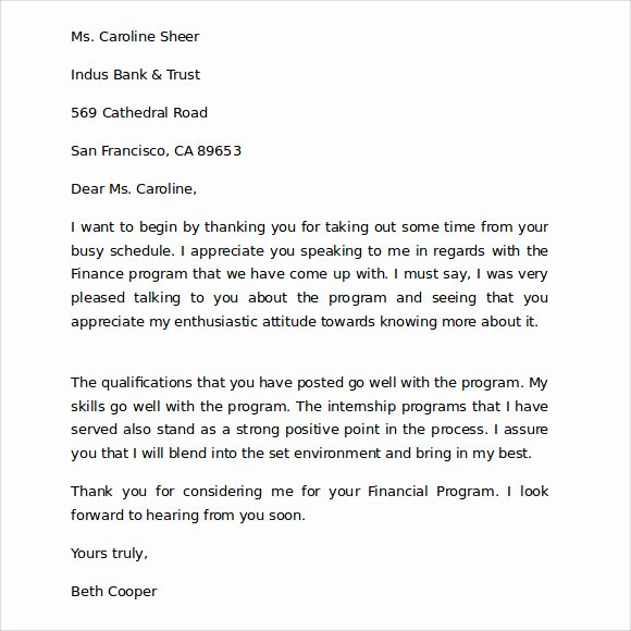 Thank You Letter Business Template New Sample Thank You for Your Business Letter 9 Documents