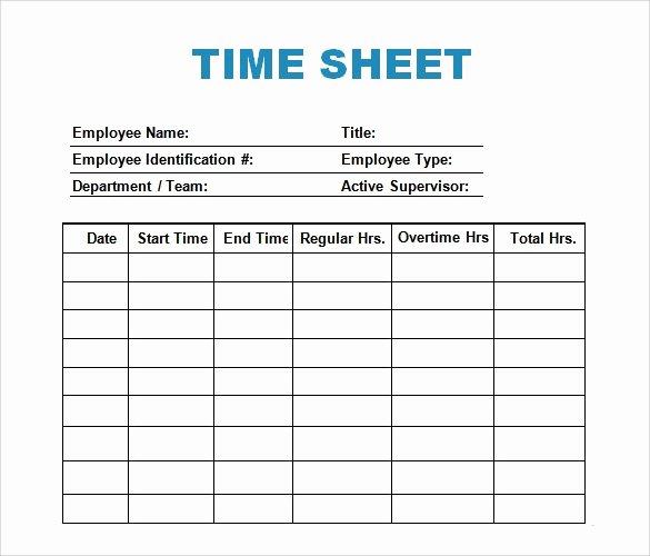 Time Log Template Excel Elegant 30 Sample Log Template Documents In Pdf Word Excel