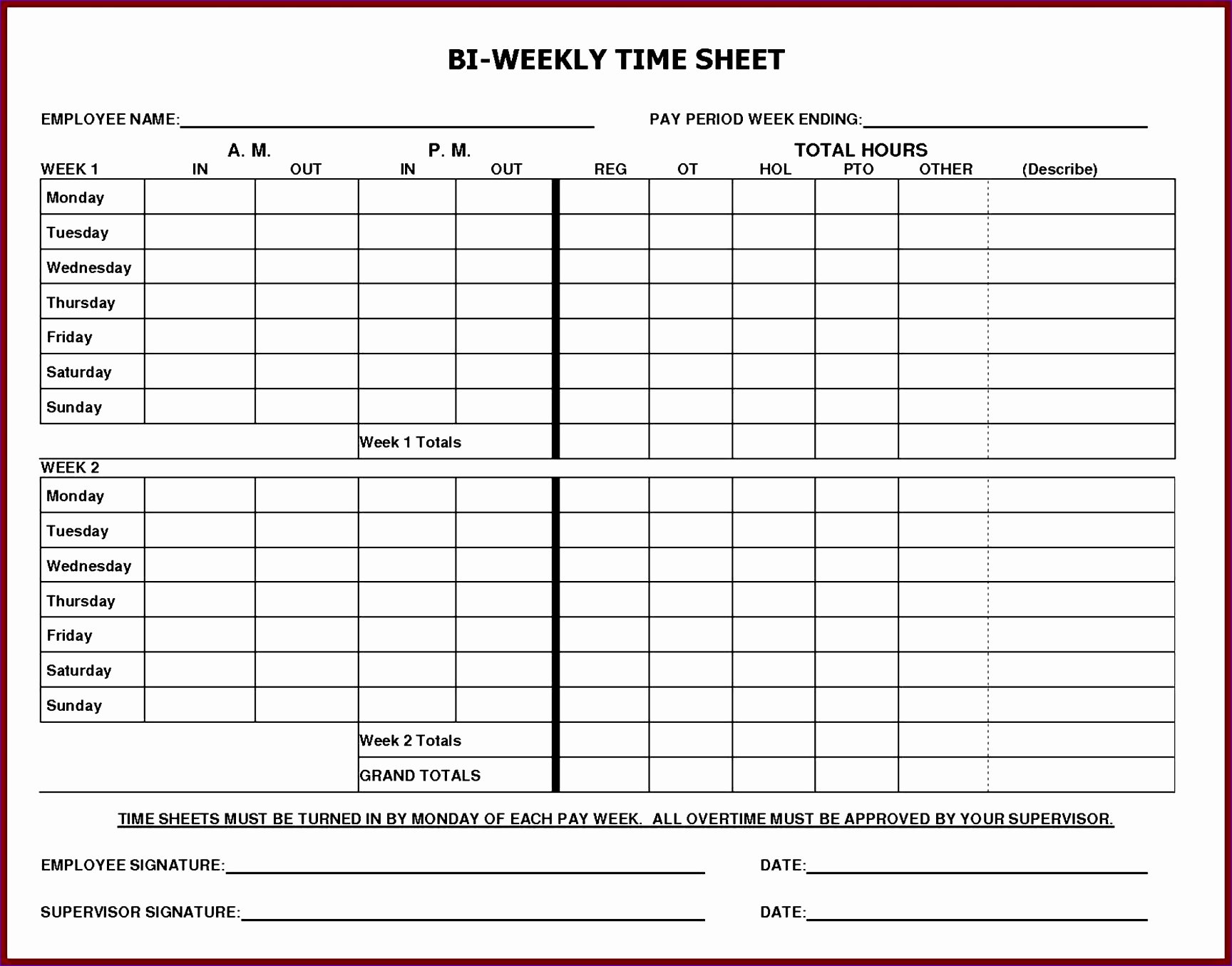 Time Log Template Excel Lovely 6 Free Excel Timesheet Template with formulas