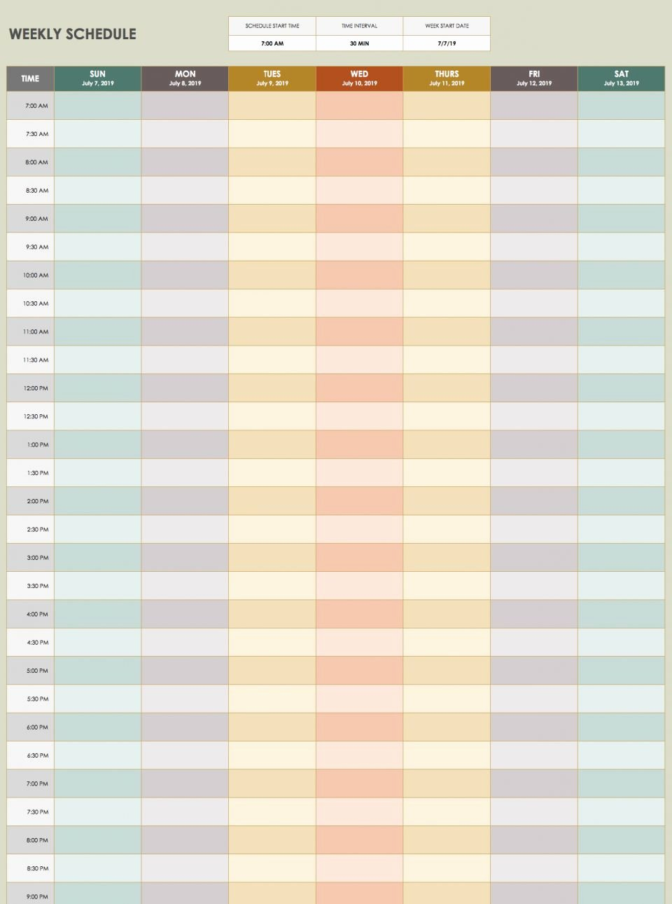 Time Management Schedule Template Lovely 28 Free Time Management Worksheets