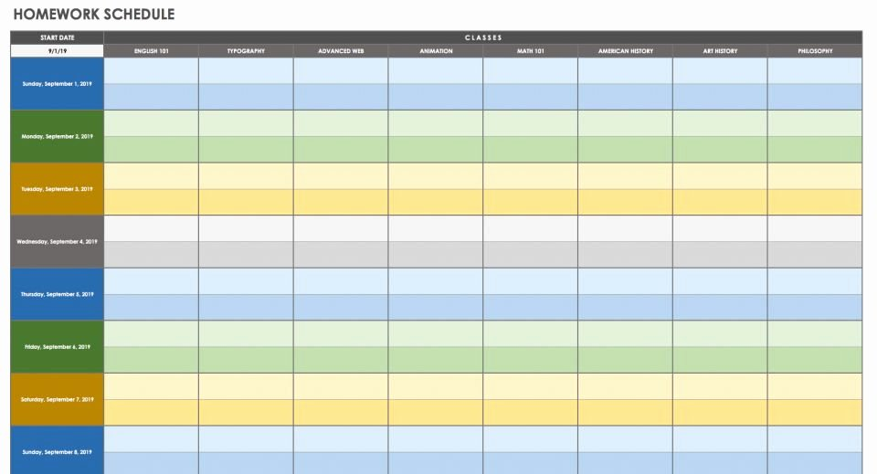 Time Management Schedule Template Unique 28 Free Time Management Worksheets