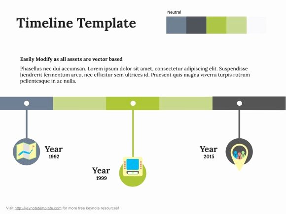 Timeline Template for Mac Elegant Free Apple Keynote Template Timeline On Behance
