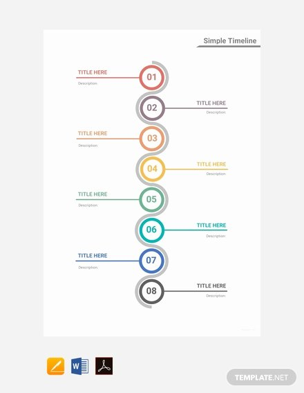 Timeline Template for Mac Luxury Free Medical Timeline Template Download 166 Charts In