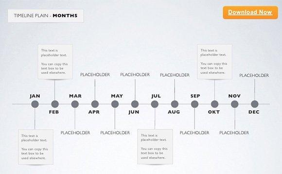 Timeline Template for Mac Unique 9 Sample Keynote Timelines