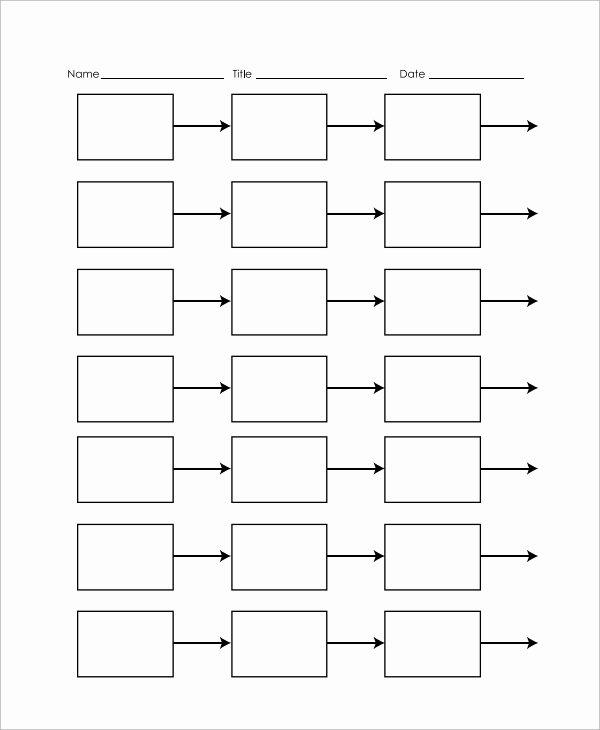 timeline template for kids