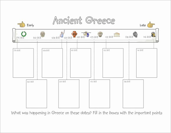 Timeline Templates for Kids Beautiful Free 8 Timeline Templates for Kids In Samples Examples