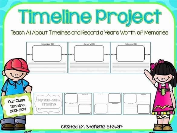 Timeline Templates for Kids Elegant Timeline Templates for Students Word Excel Samples