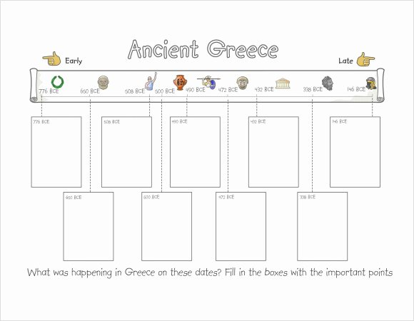 Timeline Templates for Kids Inspirational Free 8 Timeline for Student Samples In Pdf