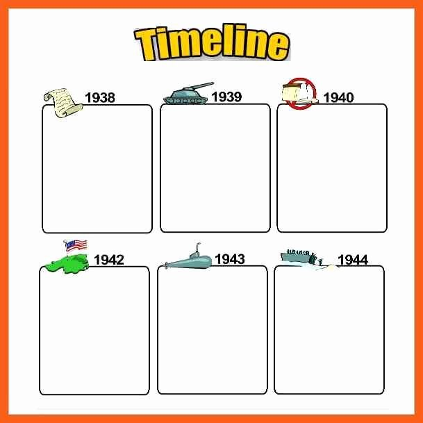 Timeline Templates for Kids Lovely Timeline Example Blank Daily Timeline Template for Kids