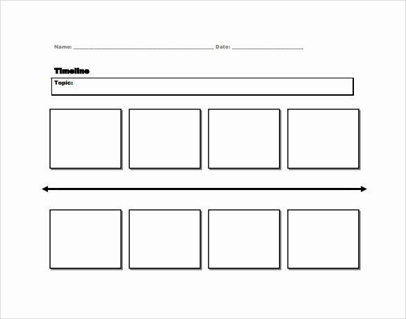 Timeline Templates for Kids New Free 8 Timeline for Student Samples In Pdf