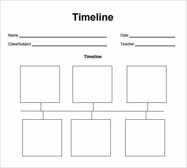Timeline Templates for Kids Unique 6 Blank Timelines Website WordPress Blog